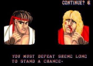Street Fighter 2 You must defeat sheng long
