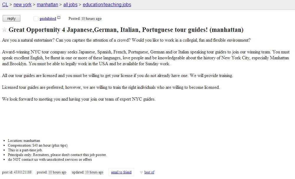 Endless Job Possibilities With Japanese 9 - Tour Guide