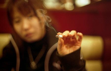 Improper Cigarette Advertising In Manga 1