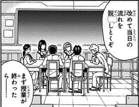 Japanese Manga Reading Quiz 3a