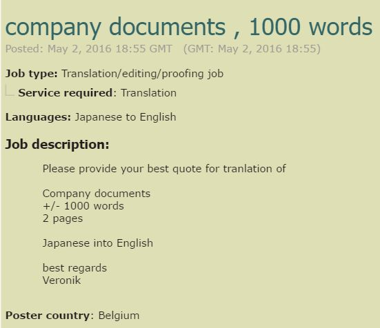 Becoming A Japanese Translator - Finding Work 14