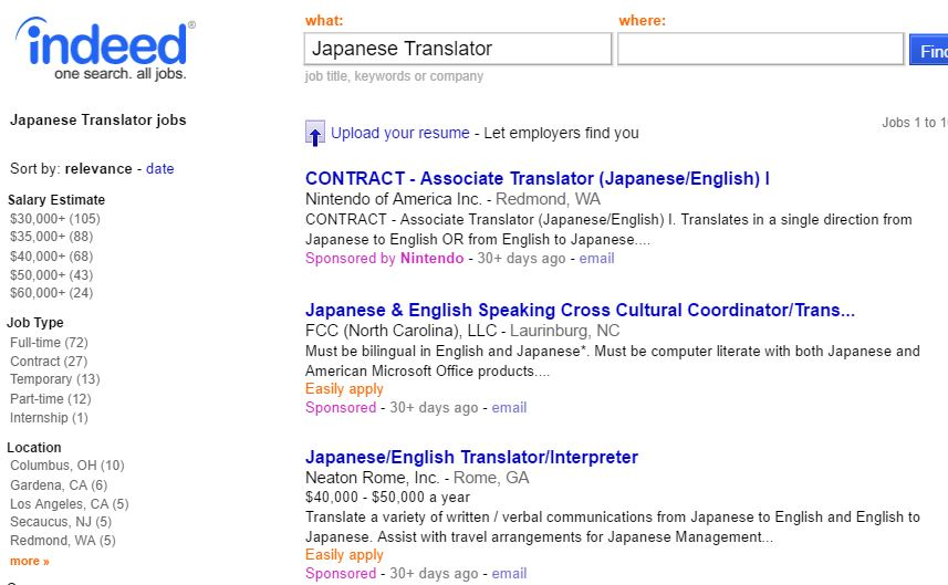 Becoming A Japanese Translator - Finding Work 17