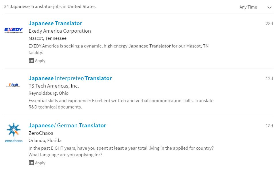 Becoming A Japanese Translator - Finding Work 18