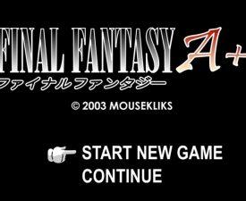 Final Fantasy A+ still Motivating Students of Japanese