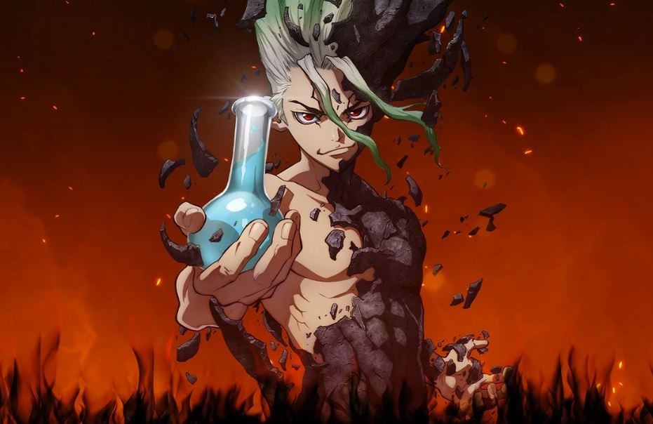 Watch Dr. Stone to Improve your Science Vocabulary